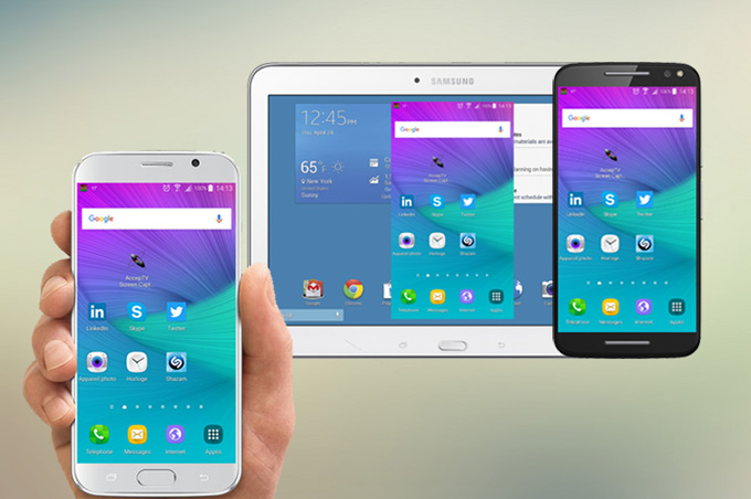 Android Mirroring with touch support